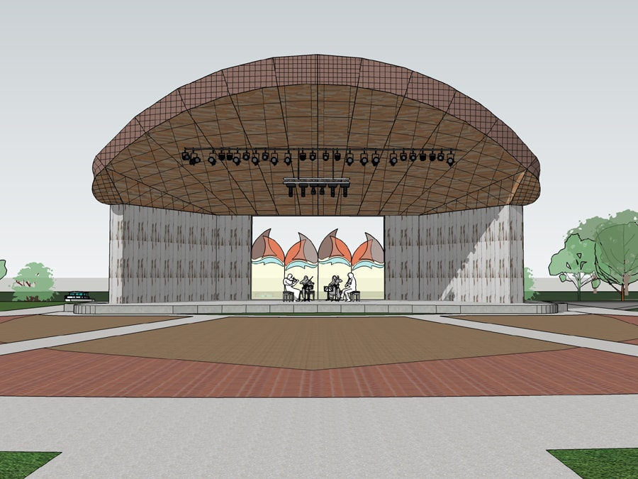 Proposed Band Shell Rendering